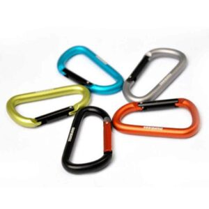 CARABINER MUNKEES 3208 D-SHAPE LIME