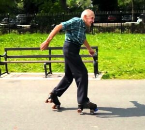 old-man-roller-skating