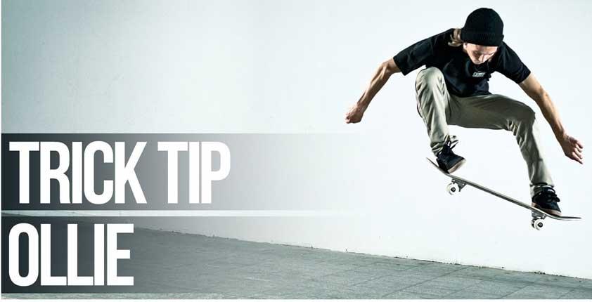 """Ollie""- το πρώτο κόλπο που πρέπει να μάθει ένας skateboarder!"