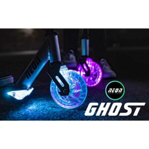 Πατίνι δίτροχο Y-volution Neon Ghost LED Scooter with Light-Up Wheels