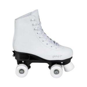 Παιδικά Αυξομειούμενα Πατίνια Quads Playlife Classic White