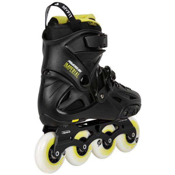 Πατίνια Powerslide Imperial Black-Yellow 80