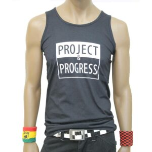 Αμάνικη Μπλούζα Project and Progress Sleeveless Black