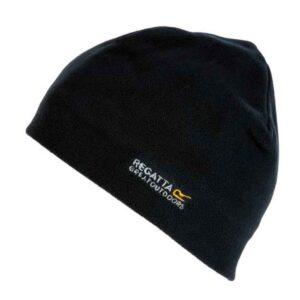 Regatta Beanie Kingsdale Hat Fleece Black