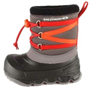 ΠΑΠΟΥΤΣΙΑ SALOMON RX-OBE-BOYS DARK GREY