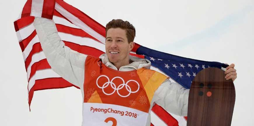 You are currently viewing LEGENDS LIVE ON • Shaun White