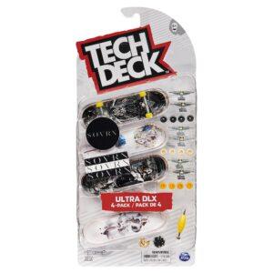 Σετ 4 Μινιατούρες Τροχοσανίδες Tech Deck Sovrn