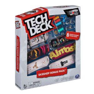 Σετ 6 Μινιατούρες Τροχοσανίδες Tech Deck Sk8Shop Bonus Pack Almost