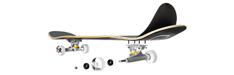 Complete skateboards for beginners and advanced skaters