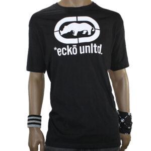 T-SHIRT ECKO JOHN RHINO LOGO black