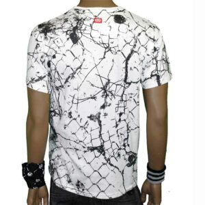 T-SHIRT ECKO CAGE FIGHT TEE white