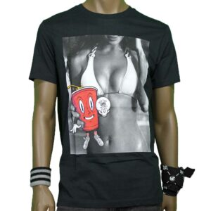 T-SHIRT ECKO ONE GIRL ONE CUP blk