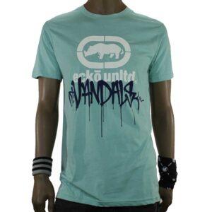 T-Shirt EckoUnltd Vandal Drip Mint