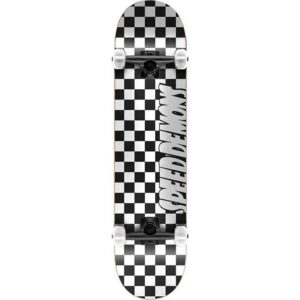 Τροχοσανίδα Speed Demons Checkers Complete Black/White 8""