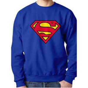 ΦΟΥΤΕΡ SUPERMAN SWEATER MENS 13250 BLUE