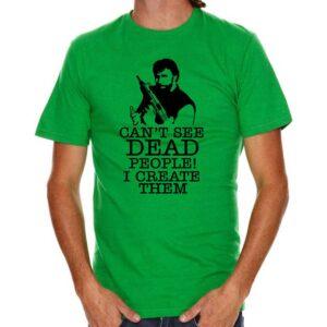 T-Shirt Chuck Norris KellyGreen
