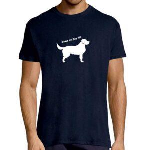 T-Shirt Come On Boy Navy