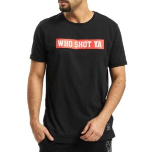 T-shirt Who Shot Ya Fresh Black