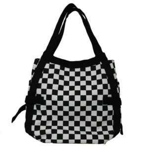 Vans Circle Tote woman bag black/white