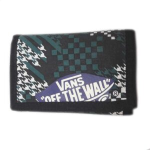 ΠΟΡΤΟΦΟΛΙ  VANS CHECK BLACK-GREEN