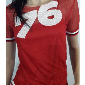 T-shirt Zembla Lora Red
