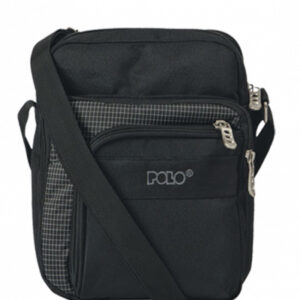 POLO SHOULDER BAG STRIKE 907007 SMALL BLACK