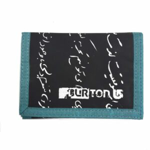 ΠΟΡΤΟΦΟΛΙ BURTON CORY BLACK-BLUE
