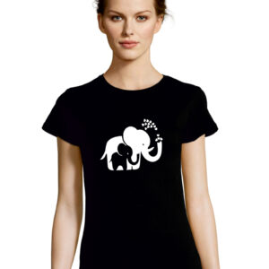 Tshirt ELEPHANTS black