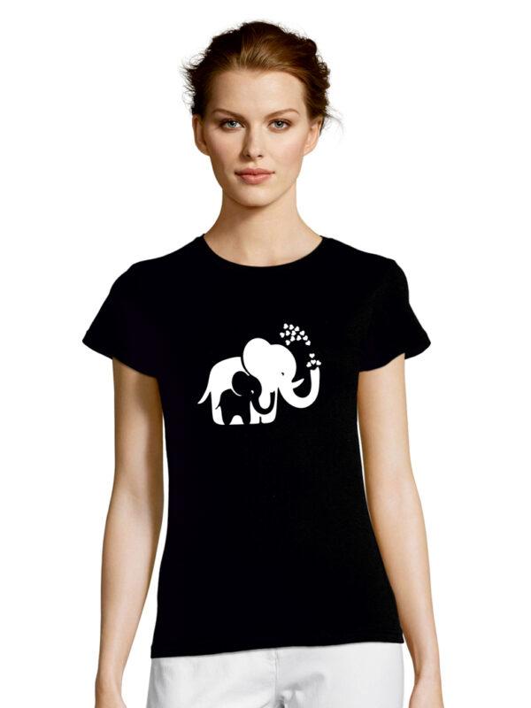 Tshirt ELEPHANTS black