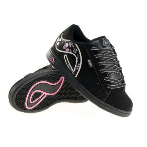 ADIO SHOES EUGENE GIRLS BLK/SILVER/PINK