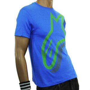 T-SHIRT ALPINESTARS DULY YOUTH BLUE