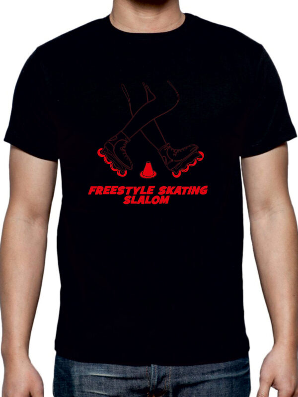 FREESTYLE SKATING black(red)