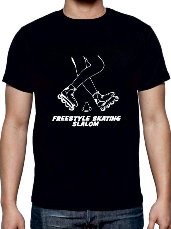 Tshirt FREESTYLE SKATING black(white)