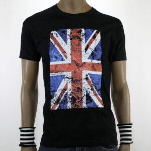 TSHIRT  ENGLISH FLAG black
