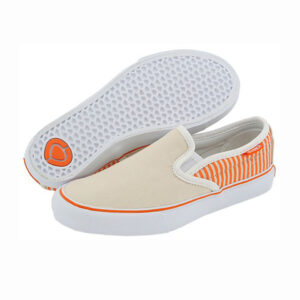 CIRCA W'S SHOES ALW50 SLIPS ORANGE/CREAM