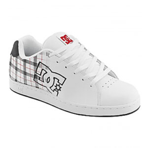 DC SHOES CHARACTER WHITE/BLACK PLAID