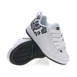 DC SHOES COURT GRAFFIC SE WHITE/MONOGRAM