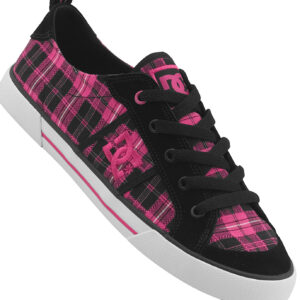 DC W'S SHOES FIONA BLK/CRAZY PINK