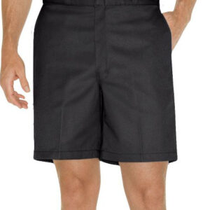 DICKIES VERMUDA FLAT FRONT SHORTS BLACK