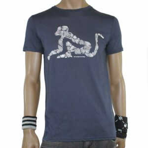 T-Shirt Drunknmunky D7032 Navy