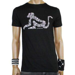 T-Shirt Drunknmunky D7033 Black