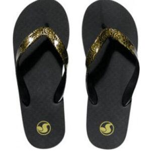 ΣΑΓΙΟΝΑΡΕΣ DVS WOMEN PESO PRINT BLACK/GOLD