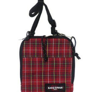 EASTPAK SHOULDR BAG K724 BUDDY CHECKS-RED