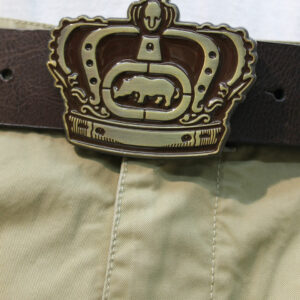 ECKO LEATHER 70305 BELT BROWN