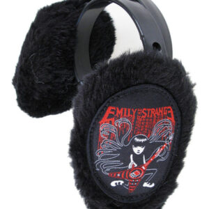 EMILY THE STRANGE EARMUFFS EMILY ROCKS BLACK