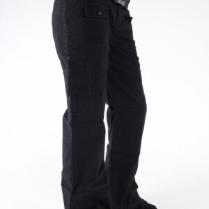 EMILY THE STRANGE PANTS SKULLS ROCK CARGO BLACK