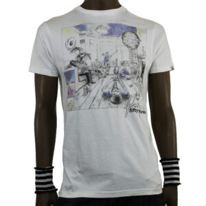 T-SHIRT FLY53  6101132 WHITE