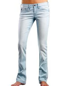 FOX W'S PANTS HI-FI 50538 DENIM