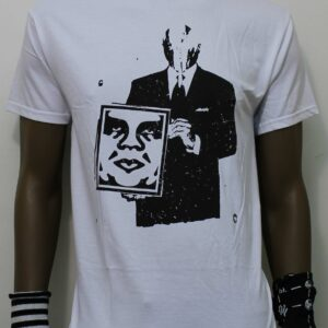 TSHIRT OBEY CORPORATE VIOLENCE white