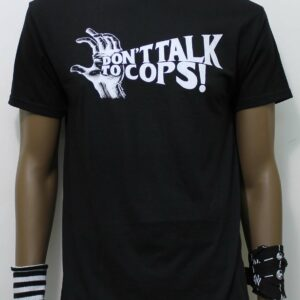 TSHIRT OBEY DON'T TALK TO COPS black